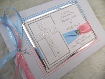 Twins Christening Guest Book